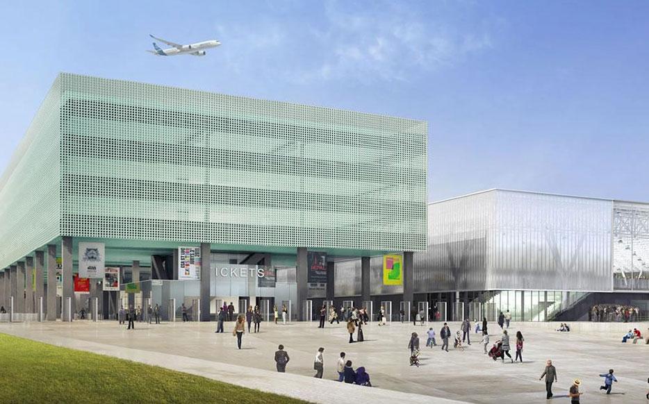 Le futur Parc des Expos de Toulouse bientôt livré !