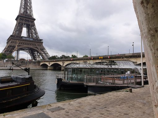 Maintenance bateau DUCASSE – Paris